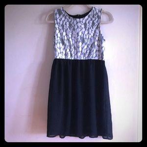Black And White Dress NWOT